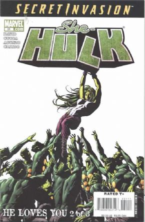 She-Hulk #31 (2008) Secret Invasion Marvel comic book